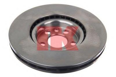 Торм.диск перед. Citroen Jumpy 1.6I-2.0HDI 95.10-, Peugeot Expert NK 201933-1