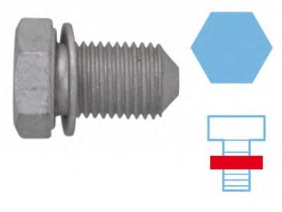 Пробка піддону двигуна CORTECO 220125S-1