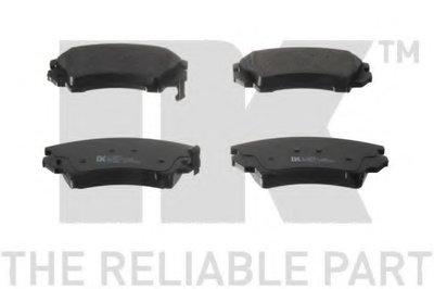 Гальмівні колодки дискові перед. Opel Insignia 08- (середина диска 321mm)/(17