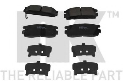 Гальмівні колодки дискові зад. Chevroler Captiva/Opel Antara 2.4, 3.2 V6 06- NK 223639
