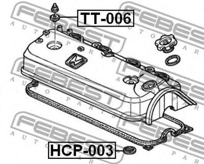 Кільце гумове FEBEST HCP003-1