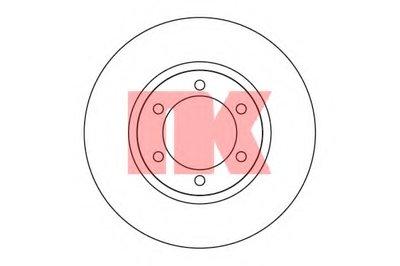 Диск гальмівний перед. Toyota Land Cruiser 3.0-4.0 03- NK 204598
