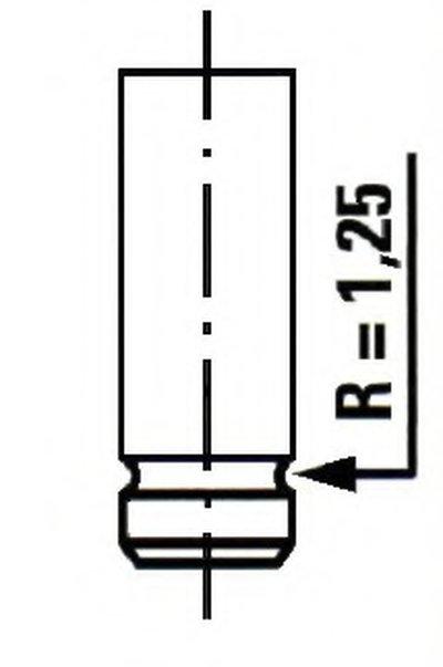 Впускний клапан ET ENGINETEAM VI0084