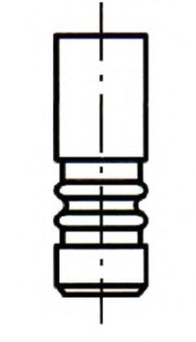 Випускний клапан ET ENGINETEAM VE0075