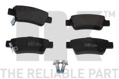 Гальміні колодки дискові зад. Honda C-RV VIII 07- NK 222641