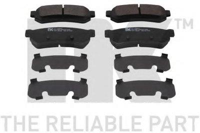 Гальмівні колодки дискові задні Daewoo Nubira/Chevrolet Lacetti 1.4 05- NK 225017