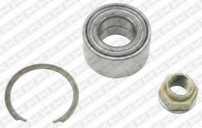 R158.36  NTN-SNR - Комплект підшипника ступиці SNR R15836