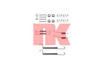Ремкомплект задніх гальмівних колодок Opel Combo 94-01 NK 7936746
