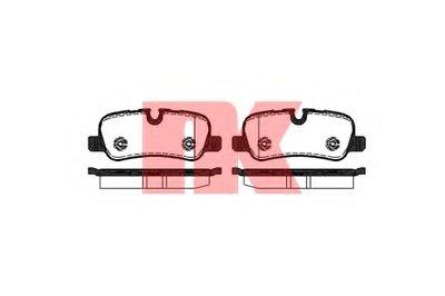 Гальмівні колодки дискові зад. Land Rover Discovery, Range Rover/Sport 2.7Td-5.0I 03.02- NK 224031