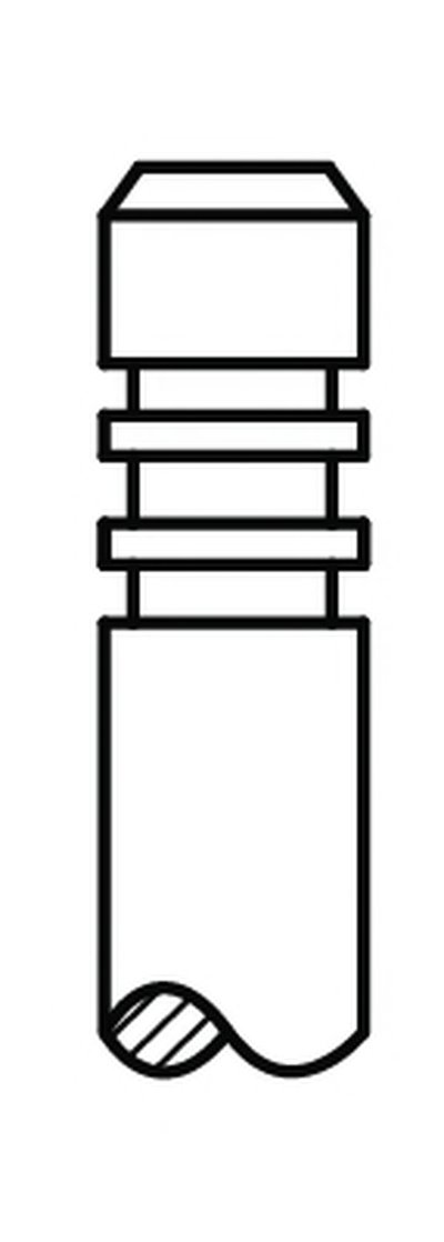 Впускний клапан AE V95125