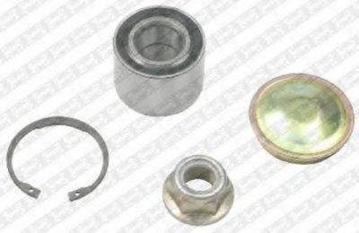 R155.63  NTN-SNR - Комплект підшипника ступиці SNR R15563