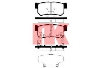 Гальмівні колодки зад. Ssang Yong 2.0XDi 06-/Korando 2.3D/Rexton 05- NK 225011